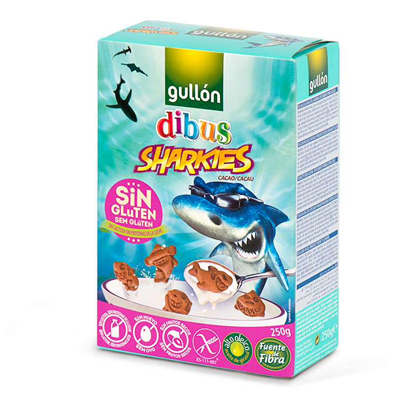 Sušenky Sharkies